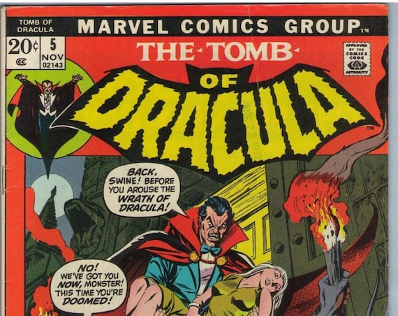 Tomb of Dracula 5 Nov 1972 VG+ (4.5)