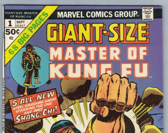 Giant-Size Master of Kung Fu 1 Sep 1974 VF- (7.5)