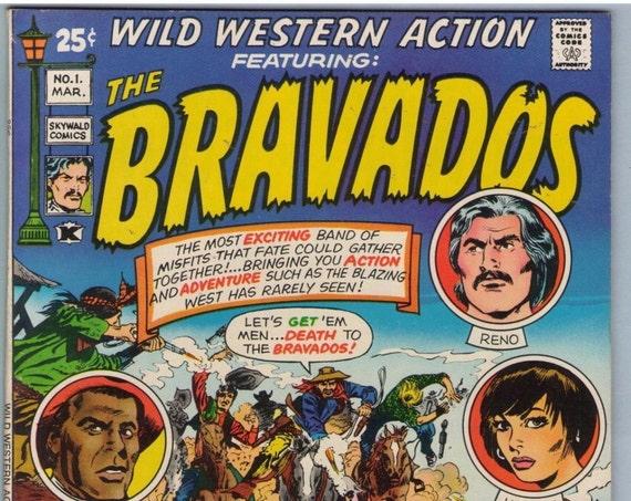 Wild Western Action 1 Mar 1971 VF (8.0)
