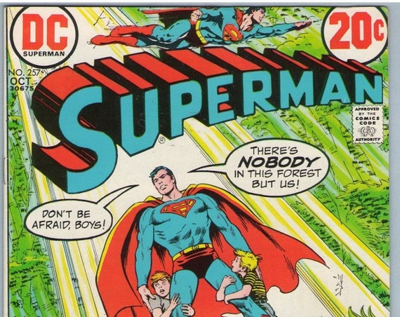 Superman 257 Oct 1972 FI-VF (7.0)