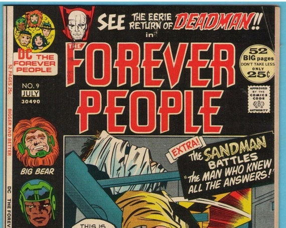 Forever People 9 Jul 1972 FI+ (6.5)