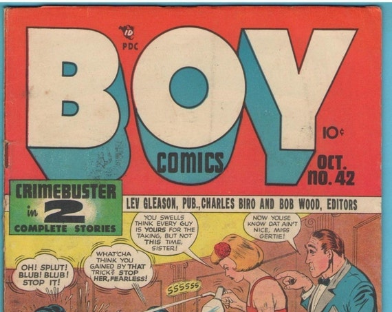 Boy Comics 42 Oct 1948 VG+ (4.5)
