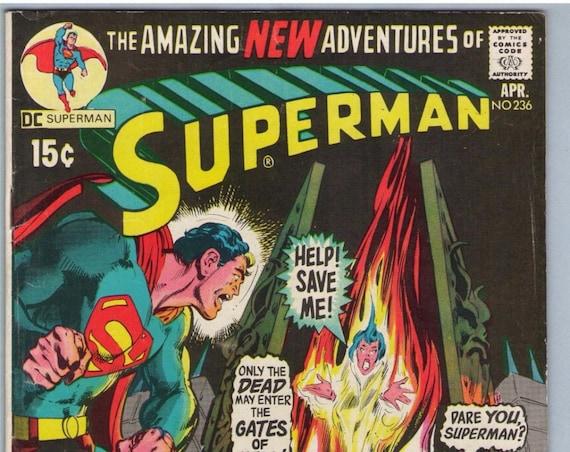 Superman 236 Apr 1971 FI- (5.5)