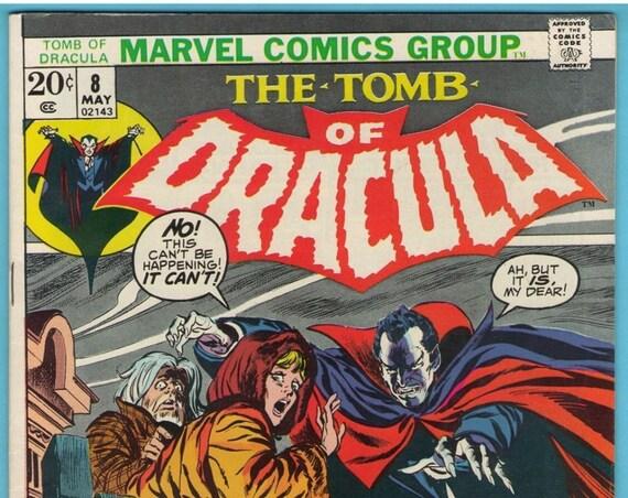 Tomb of Dracula 8 May 1973 VF (8.0)
