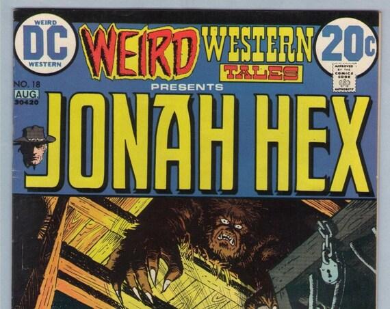 Weird Western Tales 18 Aug 1973 VF- (7.5)