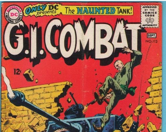 GI Combat 113 Sep 1965 VG+ (4.5)