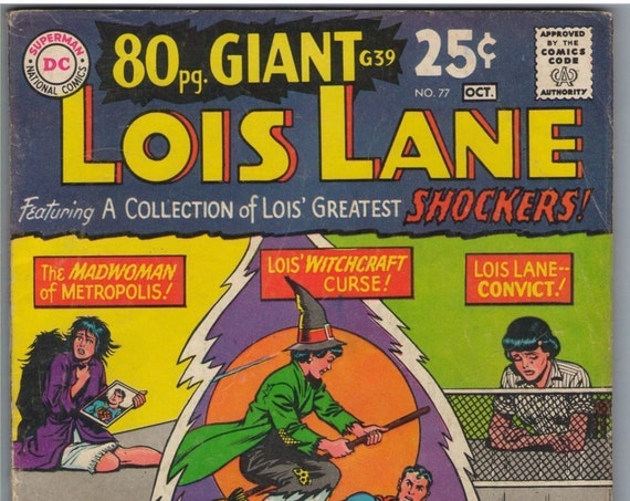 Superman's Girl Friend Lois Lane 77 Oct 1967 VG- (3.5)
