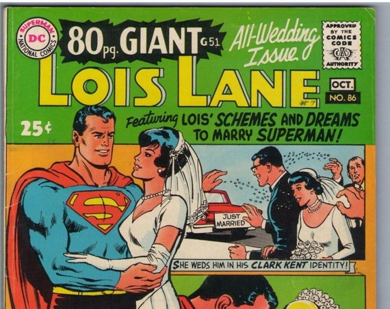 Superman's Girl Friend Lois Lane 86 Oct 1968 FI- (5.5)