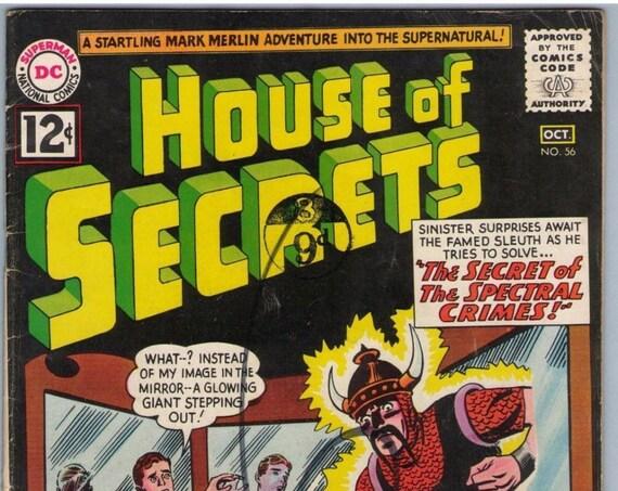 House of Secrets 56 Oct 1962 VG (4.0)