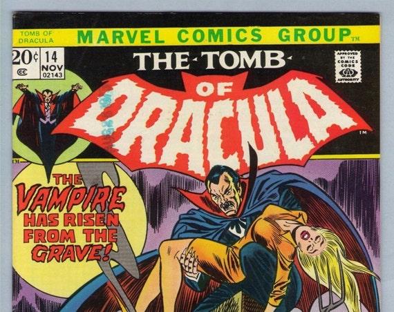 Tomb of Dracula 14 Nov 1973 VF-NM (9.0)