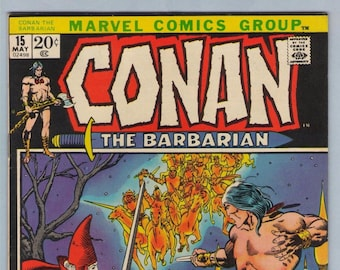 Conan the Barbarian 15 May 1972 VF- (7.5)