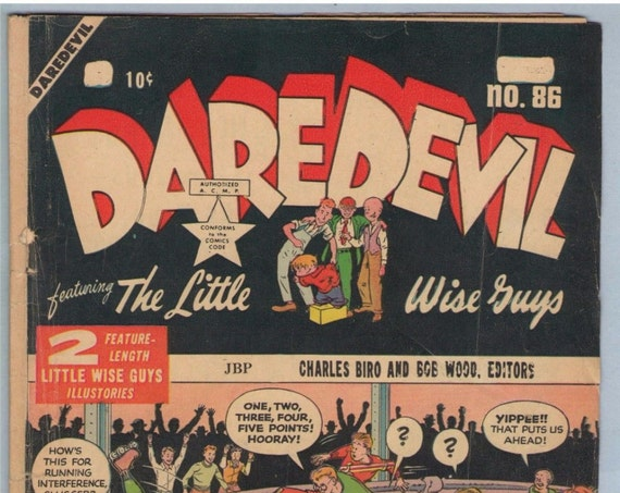 Daredevil Comics 86 (Canadian edition) May 1952 GD (2.0)