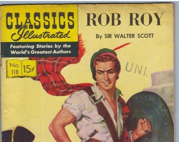 Classics Illustrated 118 (Original) Apr 1954 VG- (3.5)