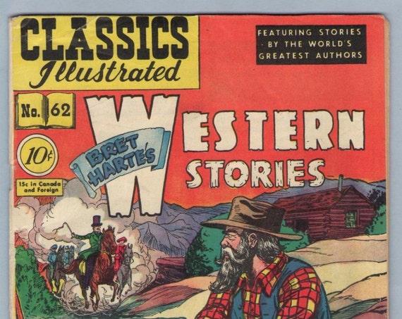 Classics Illustrated 62 (original) Aug 1949 VG+ (4.5)