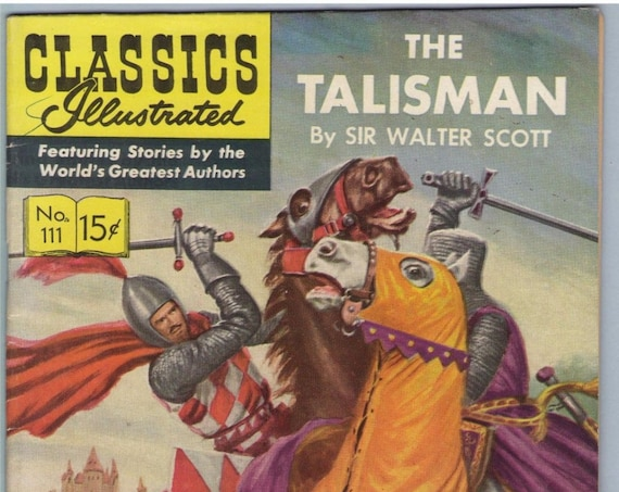 Classics Illustrated 111 (original) Sep 1953 FI+ (6.5)