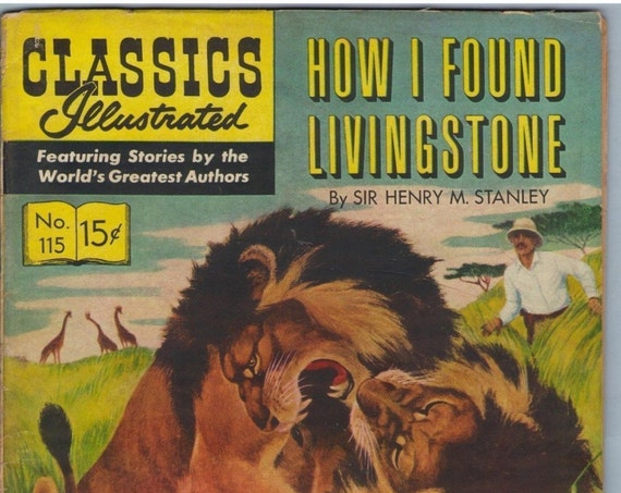 Classics Illustrated 115 (Original) Jan 1954 VG (4.0)