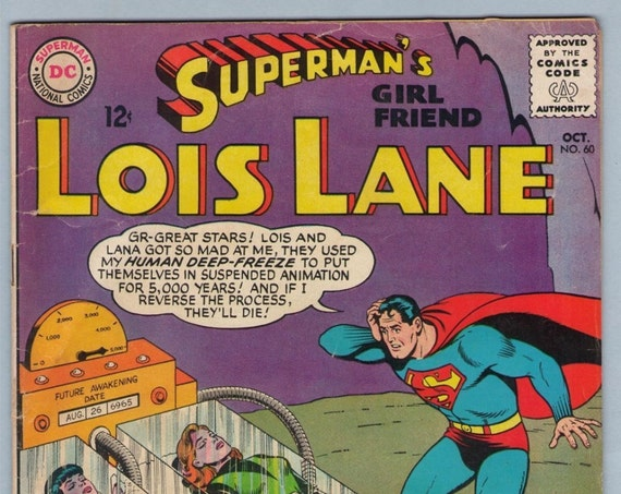 Superman's Girl Friend Lois Lane 60 Oct 1965 VG (4.0)