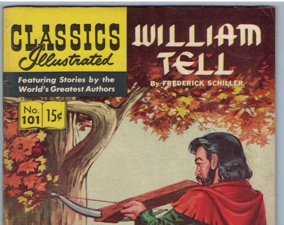 Classics Illustrated 101 (original) Nov 1952 FI+ (6.5)