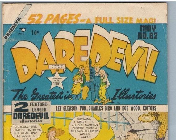Daredevil Comics 62 May 1950 GD (2.0)