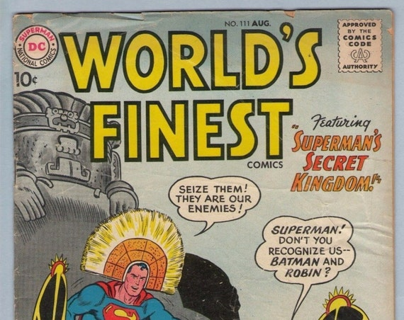 World's Finest 111 Aug 1960 GD-VG (3.0)