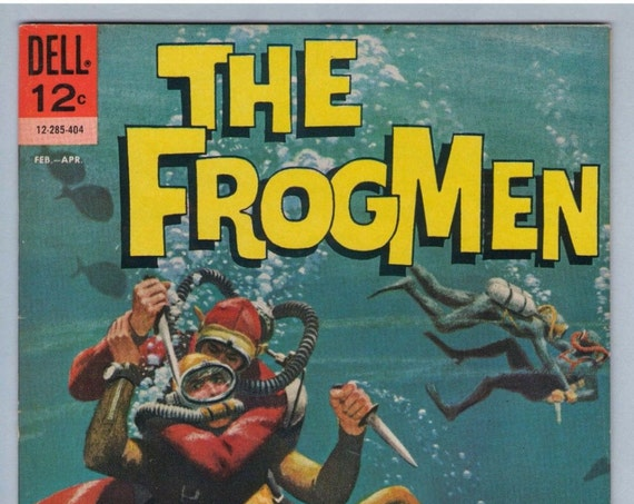 Frogmen 8 Feb 1964 VF-NM (9.0)