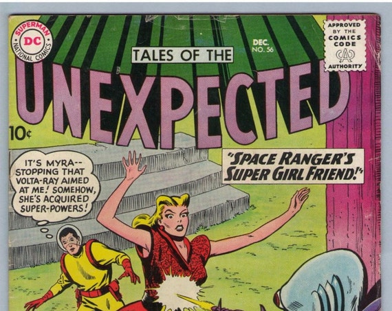 Tales of the Unexpected 56 Dec 1960 VG- (3.5)
