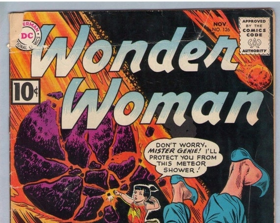 Wonder Woman 126 Nov 1961 GD-VG (3.0)