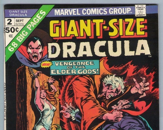 Giant-Size Dracula 2 Sep 1974 VF+ (8.5)