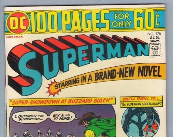 Superman 278 Aug 1974 VF (8.0)