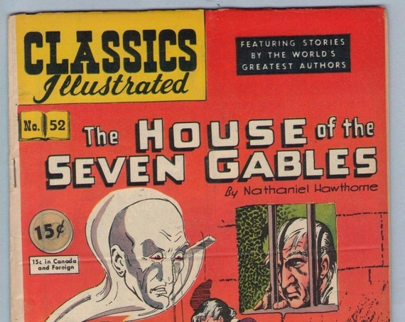 Classics Illustrated 52 (original) Oct 1948 FI- (5.5)