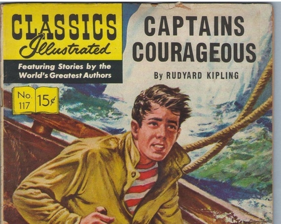 Classics Illustrated 117 (Original) Mar 1954 VG- (3.5)