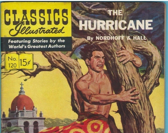 Classics Illustrated 120 (HRN 121) Jun 1954 VG+ (4.5)