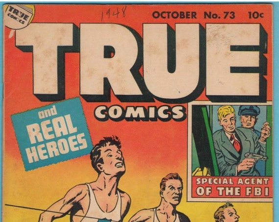 True Comics 73 Oct 1948 VG (4.0)