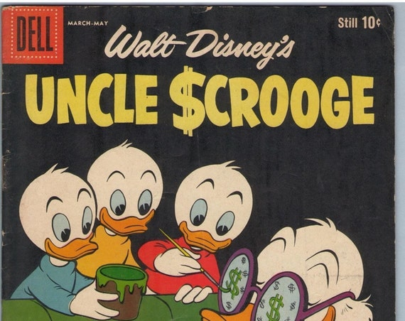 Uncle Scrooge 25 May 1959 VG-(3.5)