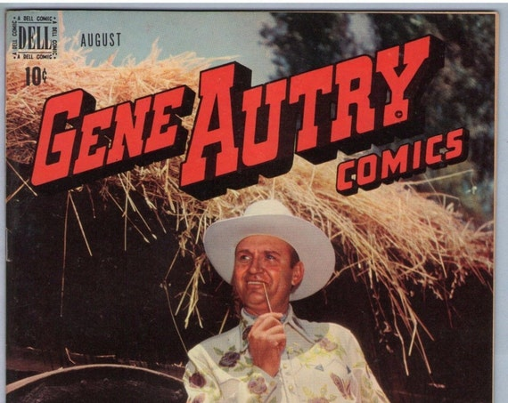 Gene Autry Comics 18 Aug 1948 NM- (9.2)