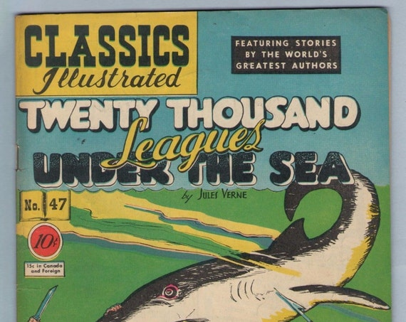 Classics Illustrated 47 (original) May 1948 FI- (5.5)