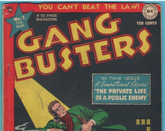 Gang Busters 2 Mar 1948 GD-VG (3.0)