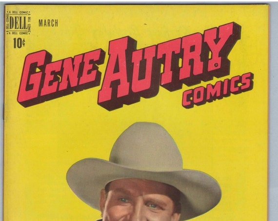 Gene Autry Comics 25 Mar 1949 VF-NM (9.0)