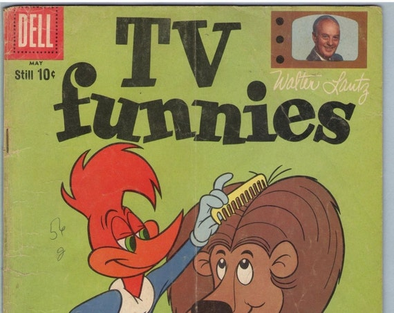 TV Funnies 267 May 1959 VG- (3.5)