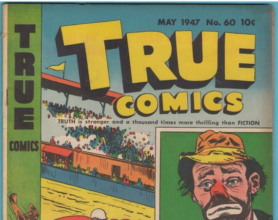 True Comics 60 May 1947 VG+ (4.5)