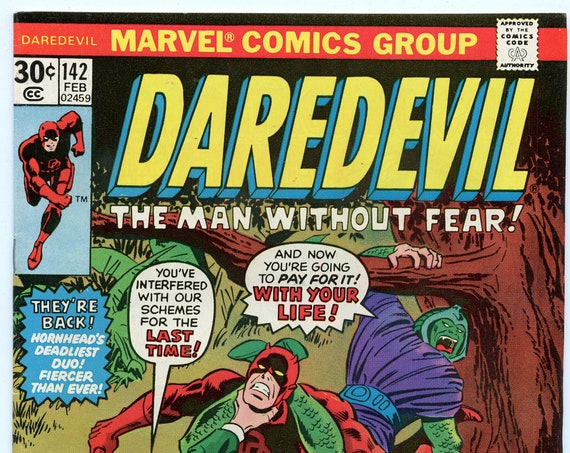 Daredevil 142 Feb 1977 FI- (5.5)