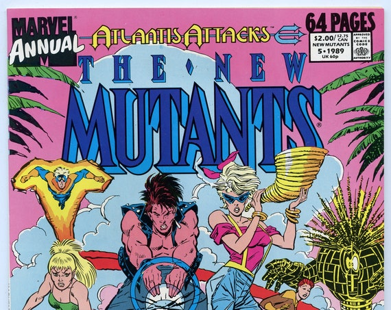 New Mutants Annual 5 1989 NM- (9.2)