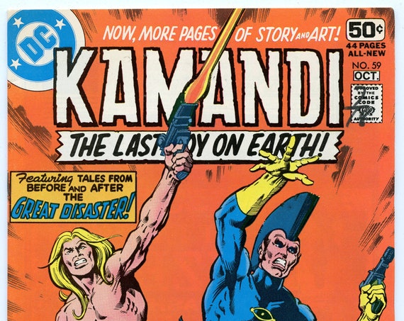 Kamandi 59 Sep-Oct 1978 FI-VF (7.0)