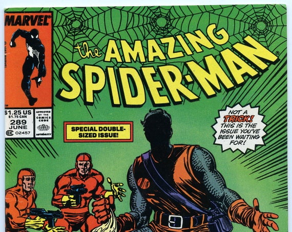 Amazing Spider-man 289 Jun 1987 FI-VF (7.0)