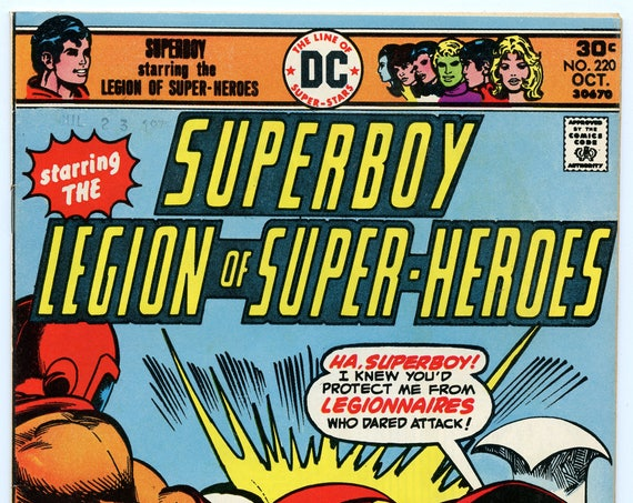 Superboy 220 Oct 1976 NM- (9.2)