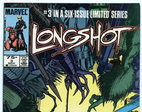 Longshot 3 Nov 1985 VF (8.0)