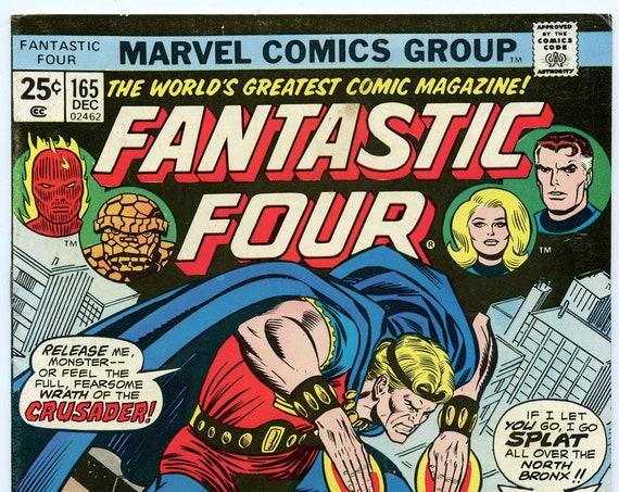 Fantastic Four 165 Dec 1975 FI-VF (7.0)