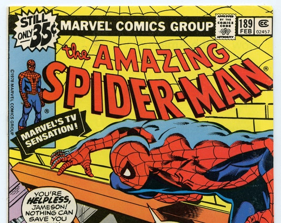 Amazing Spider-man 189 Feb 1979 FI+ (6.5)
