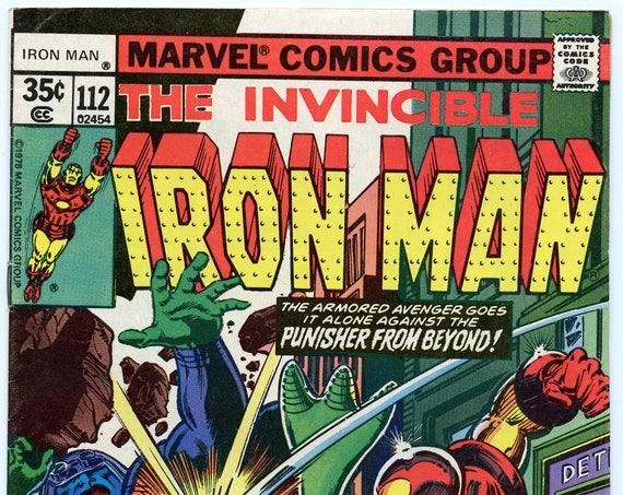 Iron Man 112 Jul 1978 VF+ (8.5)