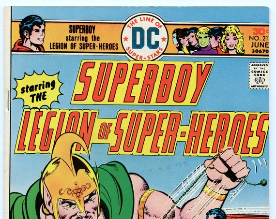 Superboy 217 Jun 1976 VF-NM (9.0)